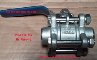 3 stainless steel welded ball valve body 304