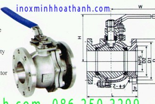 304 stainless steel flanged ball valves Jinshun